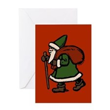 St Nicolas Greeting Card