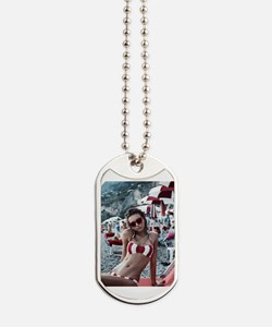 Cute Voltaire Dog Tags
