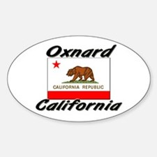 Oxnard California Oval Decal