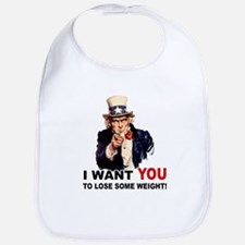 Want You To Lose Weight Bib