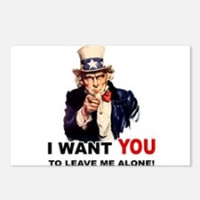 Want You To Leave Me Alone Postcards (Package of 8