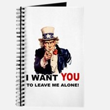 Want You To Leave Me Alone Journal