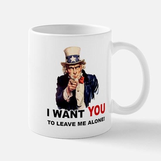 Want You To Leave Me Alone Mug