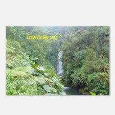 Costa Rica Waterfall Postcards (Package of 8)