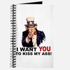 Want You to Kiss My Ass Journal