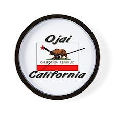 Ojai California Wall Clock