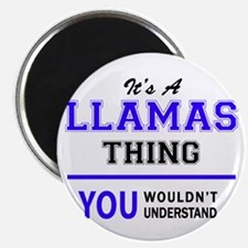 LLAMAS thing, you wouldn't understand! Magnets