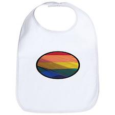 Gay Pride Rainbow Flag Bib