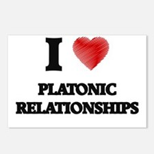 I Love Platonic Relations Postcards (Package of 8)