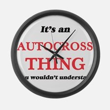 It's an Autocross thing, you Large Wall Clock
