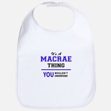 MACRAE thing, you wouldn't understand! Bib