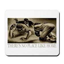 No Place Like Home Baseball Mousepad
