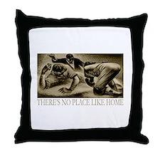 No Place Like Home Baseball Throw Pillow