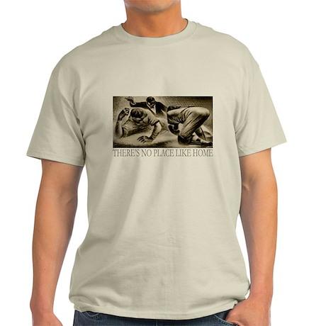 No Place Like Home Baseball Light T-Shirt