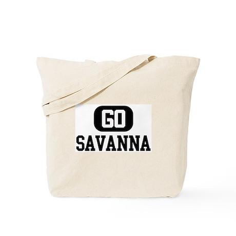 Go SAVANNA Tote Bag