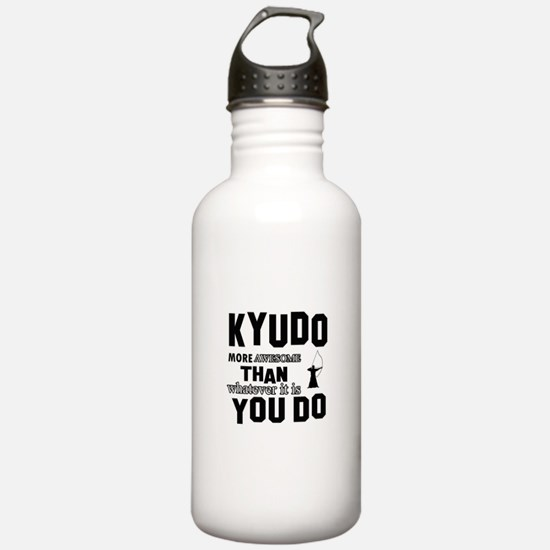 Kyudo More Awesome Des Water Bottle