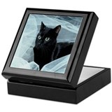 Black cat Keepsake Boxes