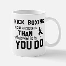 Kickboxing More Awesome Designs Mug