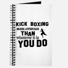 Kickboxing More Awesome Designs Journal