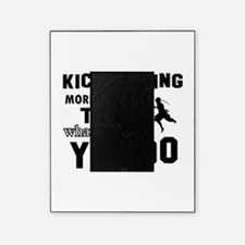 Kickboxing More Awesome Designs Picture Frame