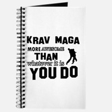 Krav Maga More Awesome Designs Journal