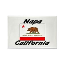 Napa California Rectangle Magnet