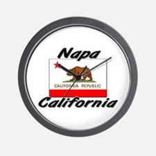 Napa California Wall Clock