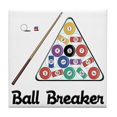 Billiards Ball Breaker Tile Coaster