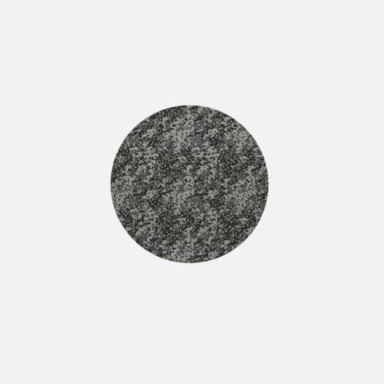 GREY DIGI CAMO Mini Button