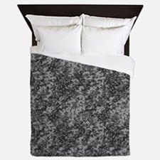 GREY DIGI CAMO Queen Duvet