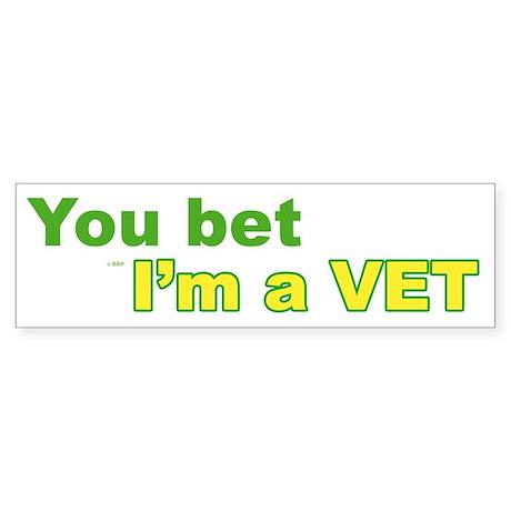Veterinarian Bumper Sticker