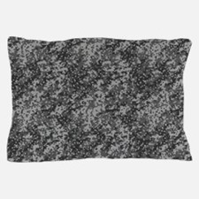 GREY DIGI CAMO Pillow Case