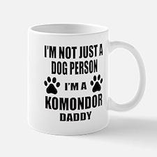 I'm a Komondor Daddy Mug