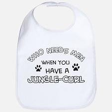 Jungle Curl Cat Designs Bib