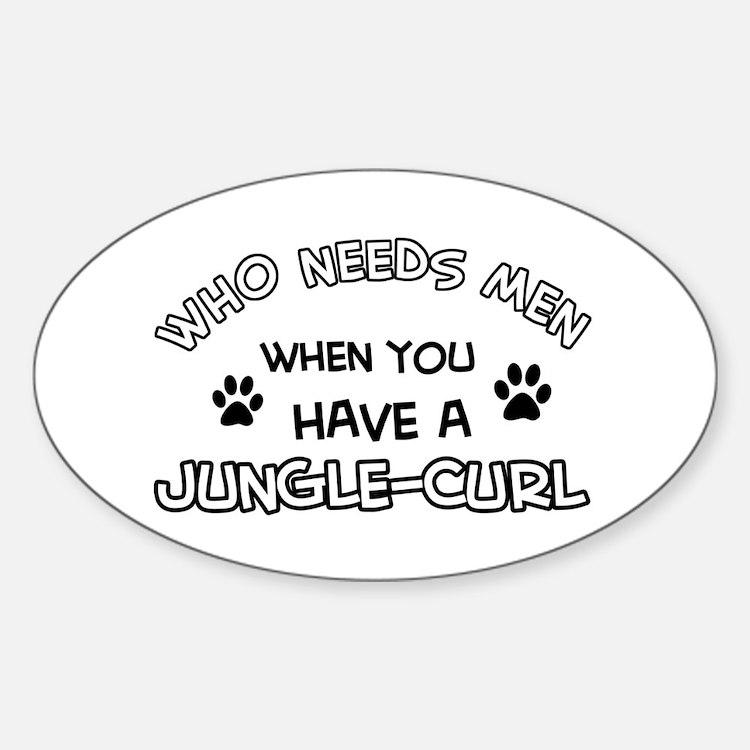 Jungle Curl Cat Designs Decal