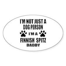I'm a Finnish Spitz Daddy Decal