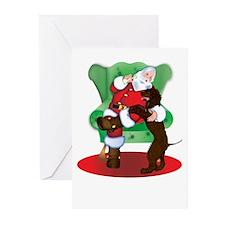 IWS & Santa Christmas Cards (Pk of 10)