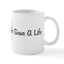 Squeeze A Boob Save A Life pi Mug