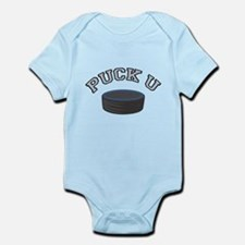 Puck U Hockey Infant Bodysuit