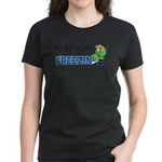 Season to be Freezin' Women's Violet T-Shirt