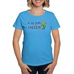 Season to be Freezin' Women's Aqua T-Shirt