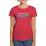 Season to be Freezin' Women's Red T-Shirt