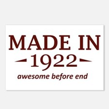 Made in 1922 Postcards (Package of 8)