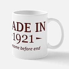 Made in 1921 Mug