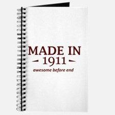Made in 1911 Journal
