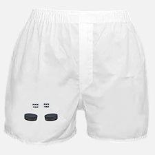 Puck You Hockey Boxer Shorts