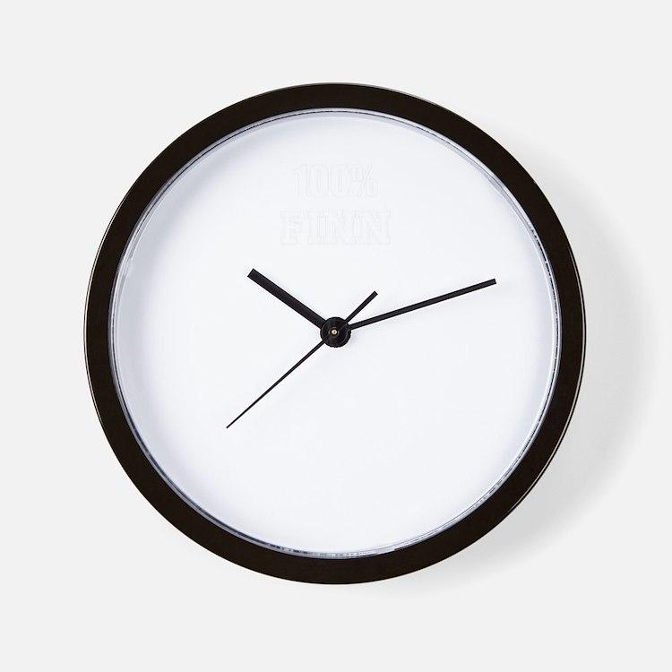 100% FINN Wall Clock