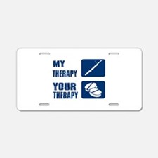 Bassoon My Therapy Aluminum License Plate