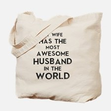 Cute My husband is a navy seal Tote Bag