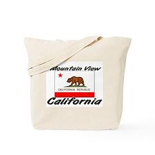 Mountain View California Tote Bag